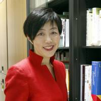 Noriko Arai, a mathematician at the National Institute of Informatics in Tokyo, heads a project to develop a robot that can pass entrance exams for the University of Tokyo. | KYODO