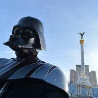 The Force is strong with this one: 'Darth Vader' enters Ukraine poll