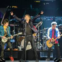 The Rolling Stones perform in Singapore on Sunday. | AFP-JIJI