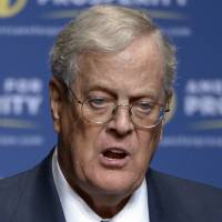 Democrats take aim at Koch brothers' GOP spending spree