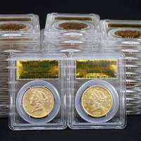 Are gold coins from S.F. Mint heist?