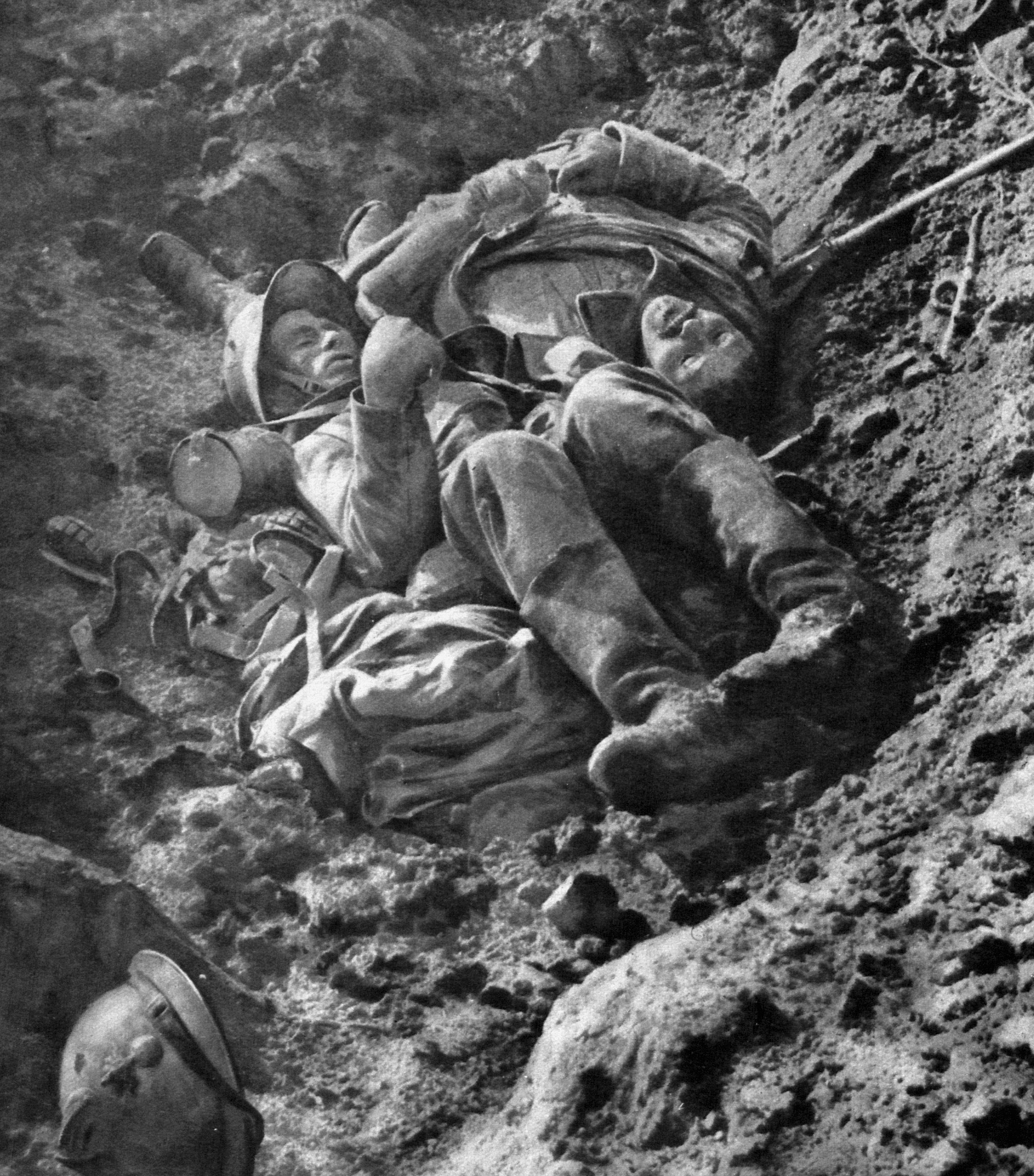 in the trenches Read the essential details about trench warfare in the first world war sections include life in the trenches, the trench system, trench foot, shell shock, body lice.