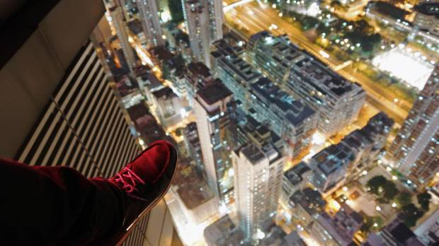 Daring 'urban explorers' get high on history