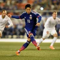 Kagawa invigorated by performance against New Zealand