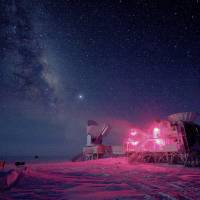 Gravitational waves following universe's expansion after Big Bang seen