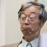 Dorian Prentice Satoshi Nakamoto listens during an interview with the Associated Press on Thursday in Los Angeles. Nakamoto, the man that Newsweek claims is the founder of Bitcoin, denies he had anything to do with it and says he had never even heard of the digital currency until his son told him he had been contacted by a reporter three weeks ago. | AP