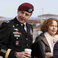 U.S. Army general fined, reprimanded over affair, inappropriate liaisons