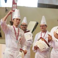 Japanese wins international bakery contest in France