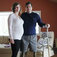 Man who lost legs in Boston Marathon bombing gets engaged