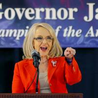 Hard-line Arizona governor won't run for re-election