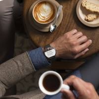 A Moto 360 'smartwatch' is seen in a handout image released Monday. Google said on Tuesday that smartwatches based on its Android mobile software will be available later this year, enlisting a variety of partners and signaling the Internet company's intent to play a leading role in what could be the next big computing market. | REUTERS