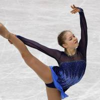 Teen sensation: Russia's Julia Lipnitskaia competes at the world championships in Saitama on Thursday. | REUTERS
