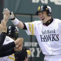 Uchikawa sparks Hawks to series sweep of Marines