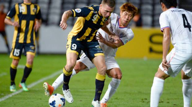 Sterjovski brace carries Central Coast Mariners past Sanfrecce Hiroshima
