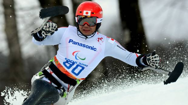 Skier Suzuki achieves golden performance on anniversary of dark day