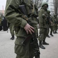 Ukraine leader urges Putin to pull back military
