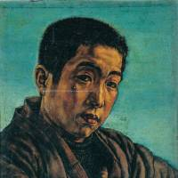 Self-reflection: A self-portrait by Masamu Yanase (ca.1916)  | MUSASHINO ART UNIVERSITY MUSEUM & LIBRARY