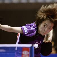 Japanese men fall, women win on first day of world team table tennis championships
