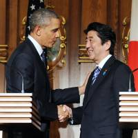 Obama assures Abe on Senkakus