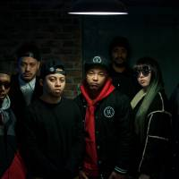Lab partners: Eight-member hip-hop group Simi Lab is made up of (from left): OMSB, Usowa, Rikki, Juma, DyyPride, Maria, DJ Zai and Hi'Spec. | THE GROUP HAS RELEASED