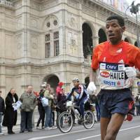 Speaking out: Distance legend Haile Gebrselassie is concerned about the marketing of athletics and the absence of big events outside of the Diamond League meets. | AP