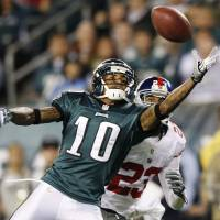 Fresh start: Former Eagles wide receiver DeSean Jackson on Wednesday signed a three-year, $24 million contract with the Washington Redskins. | AP