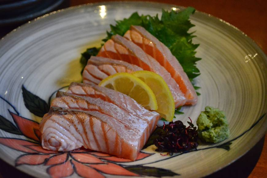 Pescetarian paradise: The menu at Kyoto's Inakatei is teeming with fish dishes, as well as a wide selection of vegetarian options.