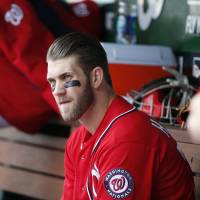 Harper pulled for not hustling as Nationals fall to Cardinals
