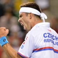 Czech Republic finishes sweep against Japan