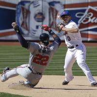 Granderson lifts Mets over Braves