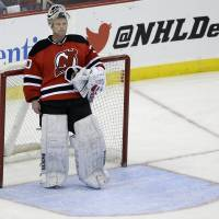 Devils win in Brodeur's likely final appearance