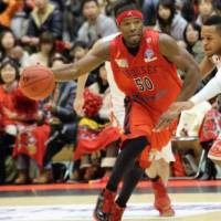A pivotal leader: Toyama forward Ira Brown is one of the league's most productive players. | MINORU NAKAMURA