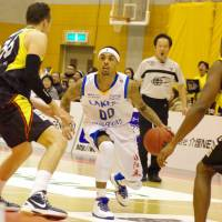 Shiga Lakestars guard Brandon Fields