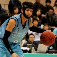 Spread the wealth: Kyoto's Kyosuke Setoyama is one of seven Hannaryz players with 50 or more assists. | HIROAKI HAYASHI