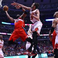 Wizards outlast Bulls in overtime to take 2-0 lead in series