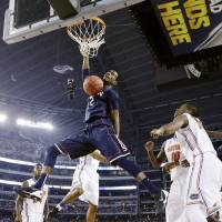 UConn upends top-seeded Gators
