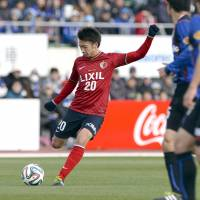Next generation: Midfielder Gaku Shibasaki has helped Kashima Antlers top the J. League table after six games. | KYODO