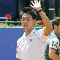Nishikori, Nadal stay on collision course in Barcelona