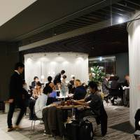 Knowledge Salon in Kita Ward, Osaka, is becoming known as a hub for young business leaders and entrepreneurs.  | COURTESY OF KNOWLEDGE CAPITAL
