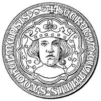 The third seal of the City of Stockholm, depicting King Erik IX. | WIKIPEDIA