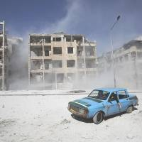 Syria forces accused of new poison gas attack in capital