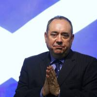 Scotland First Minister Alex Salmond attends a October 2012 news conference in Edinburgh to discuss a referendum on Scottish independence. | REUTERS