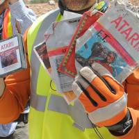New Mexico dig uncovers 'E.T.' video games buried after 1980s flop