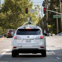 Google's self-driving cars learning to master city streets