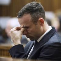 The trial in South Africa of Oscar Pistorius, who is facing a murder charge, continues at the North Gauteng High Court on Wednesday. Prosecutor Gerrie Nel indicated Tuesday that he would wrap up his searing cross examination of Pistorius, during which he has accused the former Paralympic star of lying and tailoring evidence. | AFP-JIJI