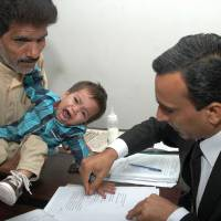 Pakistani baby accused of attempted murder