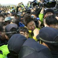 Transcript reveals confusion over evacuation of South Korean ferry