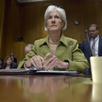 Kathleen Sebelius resigning from top Health post