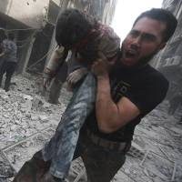 With gruesome images, UNSC to see Syria savagery