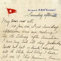 Last letter from Titanic sells for $200,000